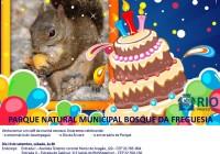 Dia 19/09 vamos festejar o aniversário do nosso Bosque!