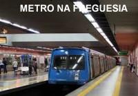 Secretaria Estadual de Transportes discute ida do metrô à Freguesia em 22/10/201 às 19hs.