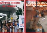 """Choque de """"Ordem"""" na cultura em """"plena democracia""""."""