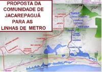 PARTICIPE! Reunião sobre o metro para a baixada de Jacarepaguá. Dia 30/01 às 16 hs.