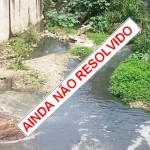 Subprefeito, e a Limpeza do Rio Sangradouro fica para quando?