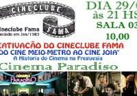 Reativação do Cineclube FAMA
