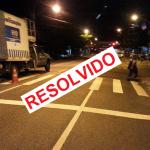 Faixa de segurança na Três Rios – Resolvido!