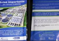 CEDAE quer o apoio dos moradores da Freguesia e procura a AMAF.
