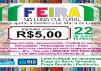 Feira em prol do Lar Maria de Lourdes_Panfleto