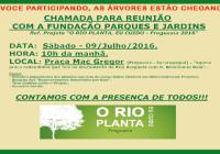 REARBORIZAÇÃO DA FREGUESIA – PROJETO RIO PLANTA EU CUIDO
