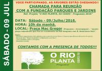 REARBORIZAÇÃO DA FREGUESIA – RIO PLANTA EU CUIDO
