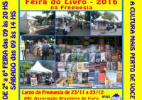 FEIRA DO LIVRO NA FREGUESIA – A CULTURA MAIS PERTO DE VOCE