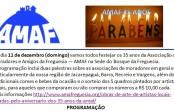 08/12, faltam 3 dias para o evento dos 35 anos da AMAF!