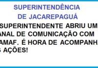 A AMAF e a Superintendência de Jacarepaguá.