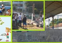 Os alunos da EM Edgard Werneck pediram árvores para plantar e os Moradores ajudaram!