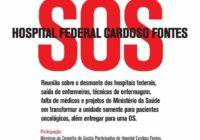 Hospital Cardoso Fontes precisa da nossa ajuda!