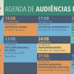 Plano Estratégico Rio 2020 – Agenda de audiências públicas.