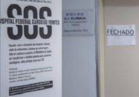 SOS Hospital Federal Cardoso Fontes. Saiu no O Globo! Dia 14/08 às 10:00 hs MANIFESTAÇÃO!