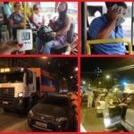 Duas reclamações que afetam o nosso bairro: Qualidade do transporte público e serviços da COMLURB que provocam engarrafamentos no horário de pico.